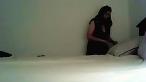 Slutty Indian Babe For The First Time Tries Black Penis