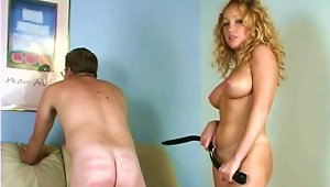 Curly And Curvy Blond Will Make Her Man So Happy
