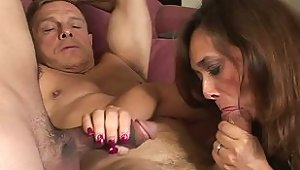 Bisexual Young Boy Joins Mature Couple For Freaky Threesome