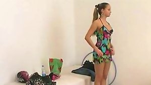 Czech Fashion Model At Her First Porn Casting