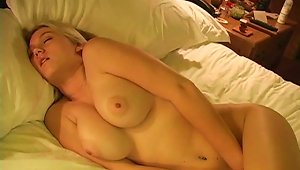 Busty Alison Angel Is Touching Her Sweet Vagina