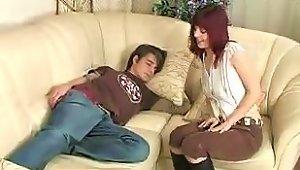 A Hot Redhead Mom With A 23 Yearold Boy