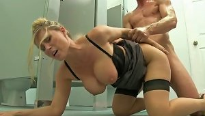 Blonde Teacher Devon Lee With Big Tits And  Fucking A