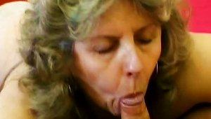 Old Granny Enjoying Hard Cock