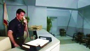 Two Tough Cops Interrogate Raylene