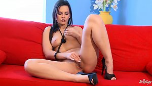 Eve Angel Masturbates Her Lovely