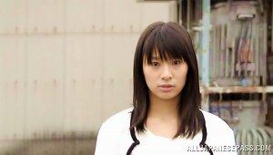 Hana Haruna The  Chick Gets Banged In A Subway Train