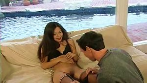Catalina Makes Love With Peter North And Gets A  Shot