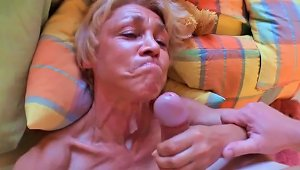 Granny Ravenous For Cock