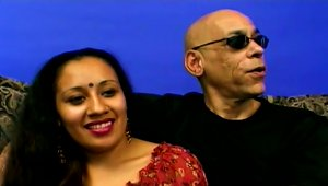 Hot  Indian Tina Enjoys In Amazing Threesome Sex