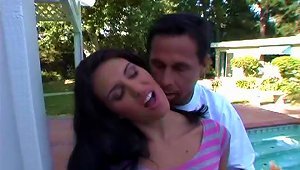Nikki Loren Gets Her Cute  Licked And Pounded By Peter North