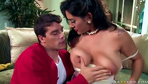 Leave It To The Busty Latina Milf Raylene's Beaver