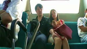 Public Fucking On The Bus Makes Miyuki Yokoyama Cum Hard