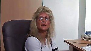 Amateur German Skinny Secretarie Fuck In Office