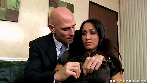 Brunette  Isis Love Gets Fucked In The Office By Her