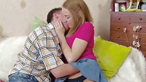 Virgin Stepsis Get First Fuck By Step Bro With Big Cock