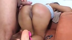 Bdsm-indian Wife Handcuffed And Fucked In Ass